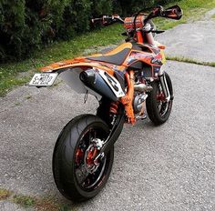 KTM SXF build by loving that plate! Cool Dirt Bikes, Dirt Bike Gear, Motorcross Bike, Bmx, Enduro Motorcycle, Ktm 690, Ktm Street Bike, Motard Bikes, Ktm Supermoto