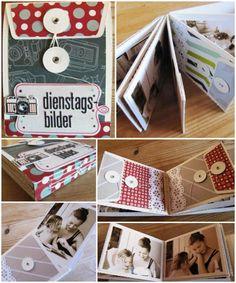 "Minialbum von Trudi Schlicht für www.danipeuss.de | Silhouette Cameo, Studio Calico ""Darling Dear"""