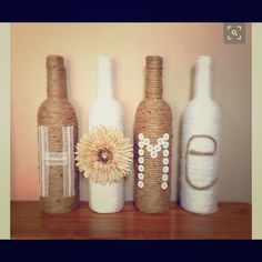 Home Bottle Decor Custom home bottle decor! Other