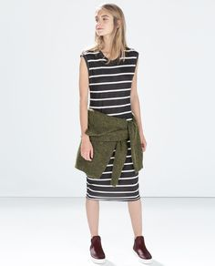 ZARA - WOMAN - SLEEVELESS DRESS