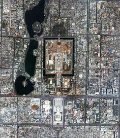 Forbidden Palace and surrounding areas, Beijing, China