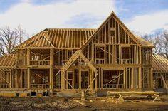Описание преимуществ и недостатков каркасно-щитового строительства и строительство по канадской технологии дома из СИП-панелей