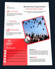 design a professional business flyer before 24 hours business