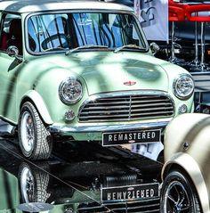"574 Likes, 3 Comments - David Brown Automotive (@davidbrownautomotive) on Instagram: ""Mini Remastered in Velvet Green. Express yourself. #MiniRemastered #DavidBrownAutomotive…"""
