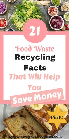 Food Waste Recycling Facts That Will Help You Save Money Here are 21 food waste recycling facts that will help you save money by Laura at .ukHere are 21 food waste recycling facts that will help you save money by Laura at . Food Waste Recycling, Recycling Facts, Money Saving Meals, Save Money On Groceries, Frugal Living Tips, Meal Planning, How To Make Money, Eat, Money Challenge