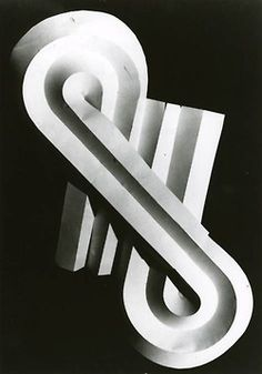Josef Albers,paper folding at the Black Mountain College, 1940s. Spatial movement, a lesson he was also teaching at the bauhaus.