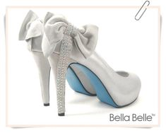 Wedding Shoes Blue Sole (Source: img3.etsystatic.com)