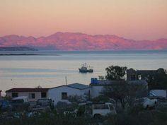 Bahia de Los Angeles - 400 miles south of of the Mexican/American border