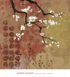 Japanese floral print (Evelia Sowash)
