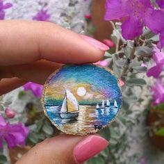 Paisaje miniatura ✨💙✨ #art #arte #draw #drawing #dibujo #paint #painting #pintar #pintura #design #diseño #illustration #ilustración #sketch #color #colorpencil #colors #artwork #artdaily #instapic #artoftheday #instaart #creative #miniature #miniatureart #miniatura #art_4share #paisaje #landscape #atespacio
