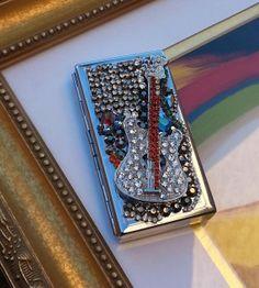 Gypsy RockStar Cigarette Case ID Wallet by TheBohemianGypsy, $48.00