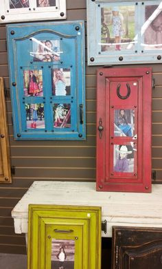 Up cycle cabinet doors – ArtandCraft Cabinet Door Crafts, Old Cabinet Doors, Old Cabinets, Old Doors, Diy Furniture Couch, Repurposed Furniture, Painted Furniture, Home Decor Styles, Diy Home Decor