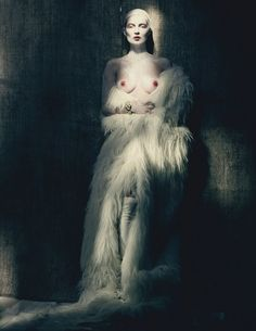 Kate moss paolo roversi for W magazine