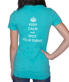 If all my students would stay calm & spot their turns, they would be pretty close to perfect ;)