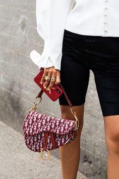 Saddle bag by Dior Dior Saddle Bag, Saddle Bags, Luxury Bags, Luxury Handbags, Women's Handbags, Replica Handbags, Fashion Bags, Fashion Accessories, Fashion Fashion