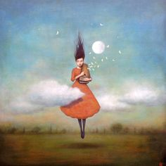 High Notes For Low Clouds by Duy Huynh at Lark & Key Gallery