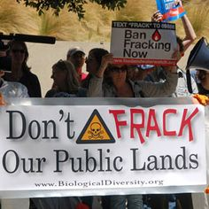 THIS LAND IS OUR LAND -- DON'T FRACK IT UP