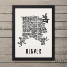 8 Best Denver Maps images
