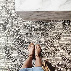 🎈Custom Mosaics tiles on your floor # mosaicfloor Decoration Inspiration, Interior Inspiration, Design Inspiration, Mosaic Art, Mosaic Tiles, Tiling, Floor Patterns, Tile Patterns, Floor Design