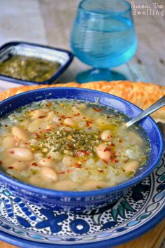 White Bean Pesto Soup | Community Post: 8 Reasons You Should Never Eat Cereal For Dinner Again