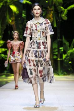 But when it comes to classic, you can't beat a bit ofDolce & Gabbana. A stalwart in the schedule, it's always classicDolce & Gabbana, what they do best, season on se...