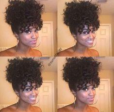 Curls bun