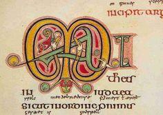 the lindesfarne gospels | The Lindisfarne Gospels - Stormfront