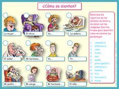 Me encanta escribir en español: ¿Cómo se sienten?