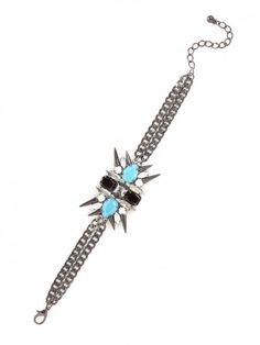 opt for ornate with our turquoise spider bracelet