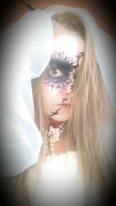 DIY makeup.... Holiday Costumes, Diy Makeup, Halloween Face Makeup, Dress Up, Costume, Diy Beauty