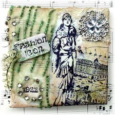 Stamps - Artistic Outpost Flapper Fashions
