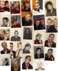 "These photobooth prints are a reminiscent of a counterculture unlikely to have dawned to the posh streets of Paris, but it did. It was ""like Amélie, but punk"". 70s Punk, Punk Goth, Teddy Boys, Programa Musical, Creepy, Grafiti, Grunge, Youth Culture, Lomography"