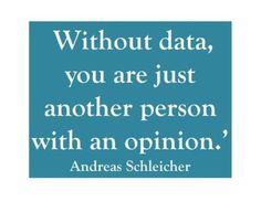 Data, Data, Data!!!!