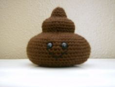 Amigurumi Poop - FREE Crochet Pattern / Tutorial... LOL I NEED to make this for someone.
