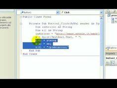 Tutorial-96-Imparare Visual Basic - #Basic #Corso #Google #Imparare #Insegnar #Lezione #Lezioni #Linguaggio #Maps #Online #Programma #Programmare #Programmazione #Scuola #Tutorial #Video #Visual http://wp.me/p7r4xK-Wp