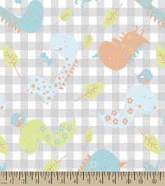 Baby Dinosaurs Print Fabric