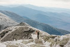 Eloping couple explores summit during their adventure elopement on Mt. Mansfield, Vermont's tallest mountain. Vermont mountain wedding. Vermont winter elopement. Vermont elopement packages. Vermont Winter, Sunset Color Palette, Alpine Adventure, San Juan Islands, Water Element, North Cascades, State Parks, Beautiful Places, Outdoor Weddings