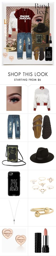 """Imagine Dragons"" by mrsdman-kyle on Polyvore featuring Impossible Project, Ganni, Hollister Co., Birkenstock, Lack of Color, Casetify, Charlotte Russe, Marc Jacobs, J.W. Anderson and Kat Von D"