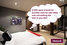 Even a bed doesn't like a cluttered head! Tip Of The Day, Space, Bed, Tips, Table, Room, Design, Home Decor, Floor Space