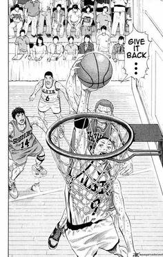 Slam Dunk 273 - Read Slam Dunk 273 Manga Scans Page Free and No Registration required for Slam Dunk 273 Basketball Drawings, Comic Manga, Manga Anime, Anime Art, Anime Guys, Kuroko, Slam Dunk Manga, Manhwa, Basketball