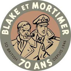 Blake en Mortimer 70 ANS - W.B.