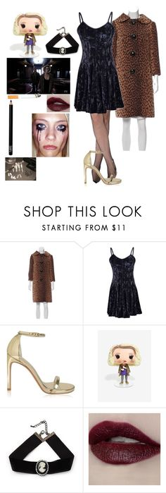 """""""Hypodermic Sally - AHS/American Horror Story"""" by j-j-fandoms ❤ liked on Polyvore featuring Michael Kors, Stuart Weitzman, Funko, Episode, Avalaya and Space NK"""