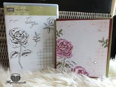 Magical Scrapworld: For you, cards, graceful garden,  Stampin' Up!, stampin' write markers, watercolor pencils, catalogue 2017-2018