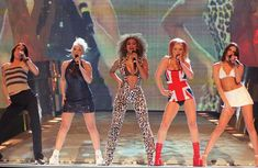 Spice Girls were a British pop girl group formed in 1994. The group comprised Victoria Beckham (née Adams), Melanie Brown, Emma Bunton, Melanie Chisholm, and Geri Halliwell.