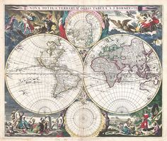 In March 2011, Geographicus Rare Antique Maps, a specialist dealer in fine and rare antiquarian cartography and historic maps, donated their collection of over 2000 digital images to Wikimedia Commons. Here is just a small selection of a really great collection.