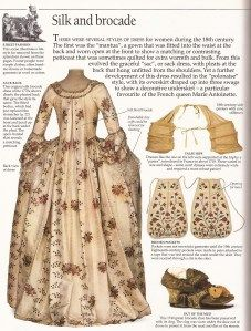 1770's Sac dress, an overview