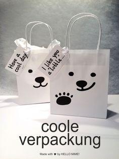 Eisbären Penguin Birthday, Bear Birthday, Diy Birthday, Birthday Parties, Polar Bear Party, Polar Bears, Schnee Party, Paper Bag Crafts, Paper Butterflies