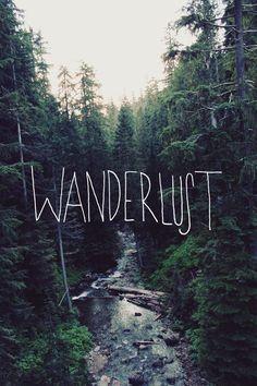 Wanderlust print