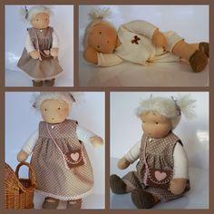 Anouk is de maakster van de prachtige poppen die je hier op de fotocollages ziet. Anouk woont met man en vier zonen in A...