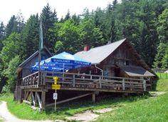 A Zum Guten Hirten Hütte Cabin, House Styles, Home Decor, Shepherds Hut, Decoration Home, Room Decor, Cabins, Cottage, Home Interior Design